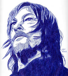 Norman Reedus in Blue by Enlee-Jones