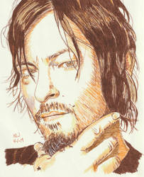 Norman Reedus 6 by X-Enlee-X