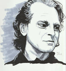 Brad Dourif 2 by X-Enlee-X