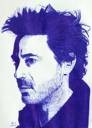 Robert Downey Jr by Enlee-Jones