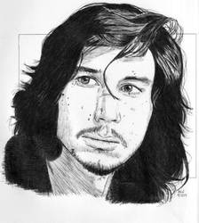 Adam Driver 2 by Enlee-Jones