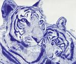 Tigers by Enlee-Jones