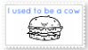 asdf movie Stamp-I used to be a cow by EnigmaticBibliophile