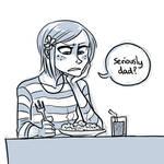 Sketchy fanart - Coraline