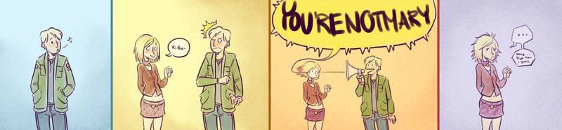 YOURENOTMARY by SnuffyMcSnuff