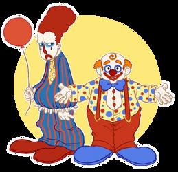 Clowns by SnuffyMcSnuff