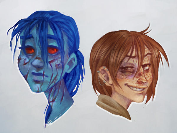 Beat up swtor OCs by SnuffyMcSnuff