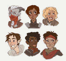 Inquisitors by SnuffyMcSnuff