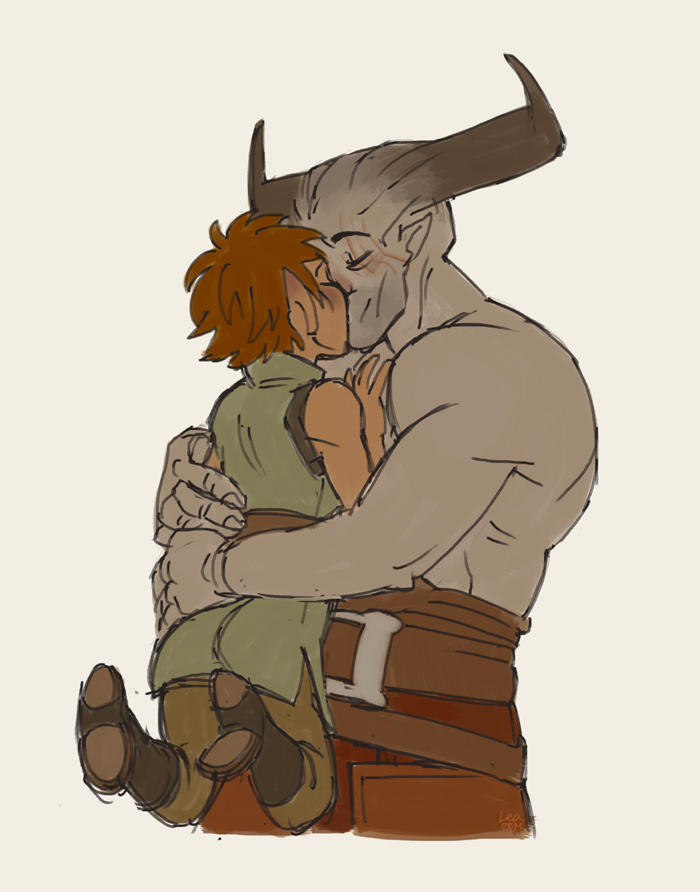 Tiny Inquisitors and their huge boyfriends by SnuffyMcSnuff
