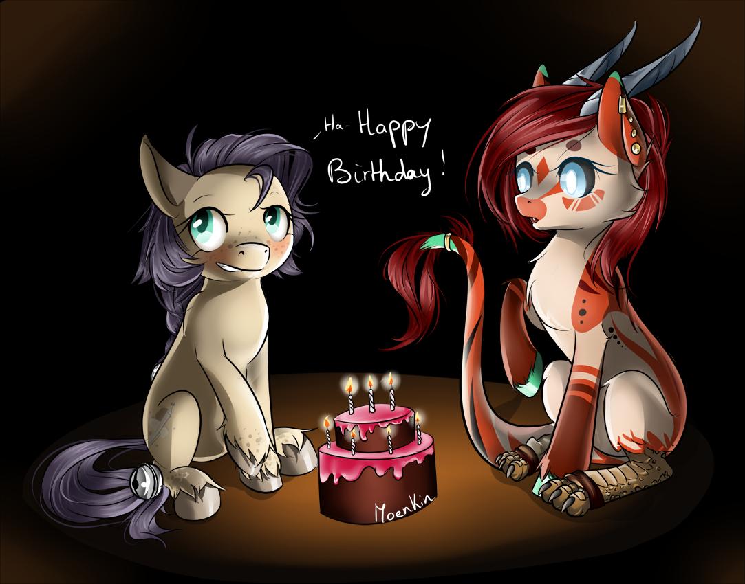 Ha-happy Birthday! by Moenkin