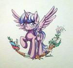 Twilight Sparkle Watercolor