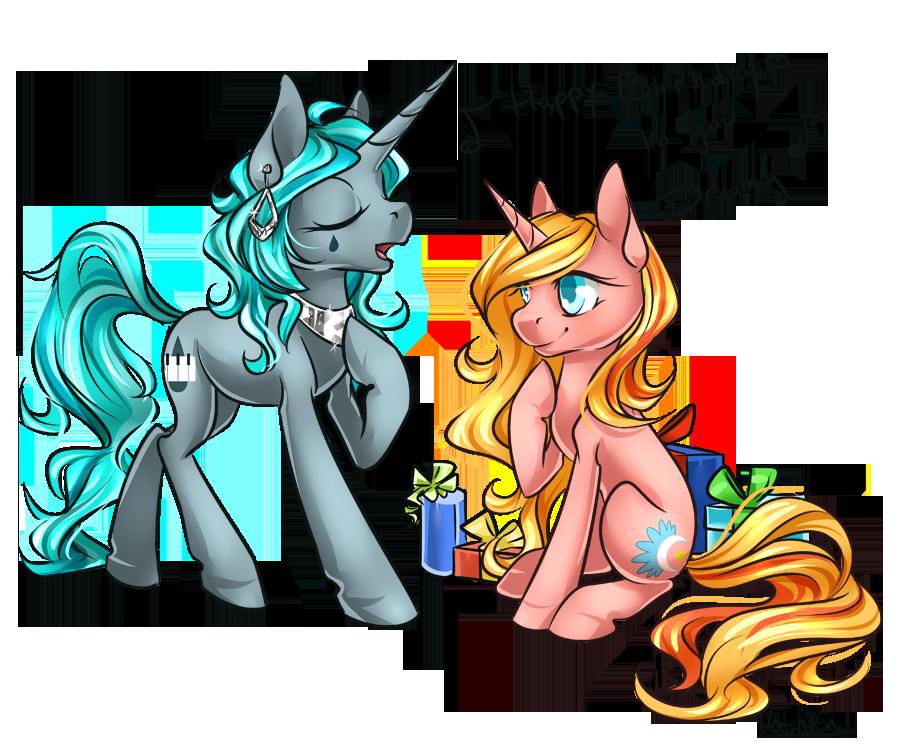 [Commission] Happy Birthday Dreamy by Moenkin