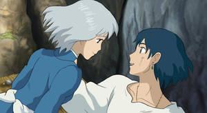 Ghibli Love: Howl's Moving Castle by Jabberwockyface