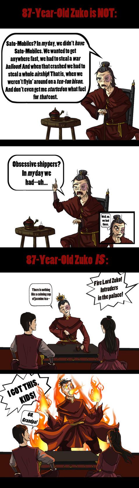 Old Zuko by akszirules