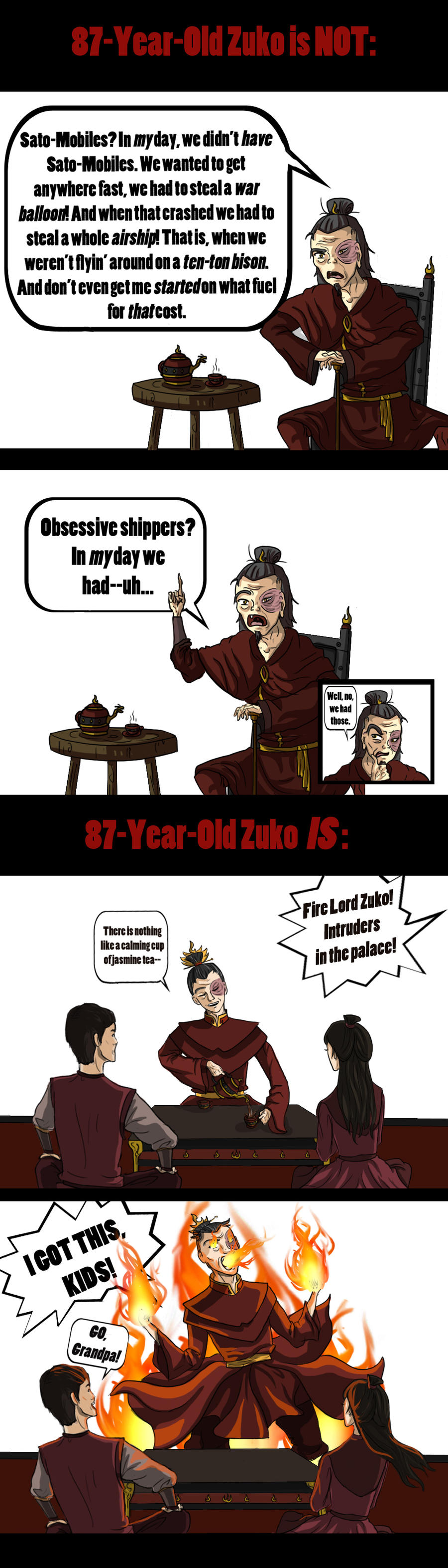 Old Zuko by akszirules