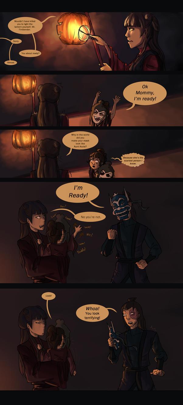 Fire Nation Halloween pt1 by akszirules