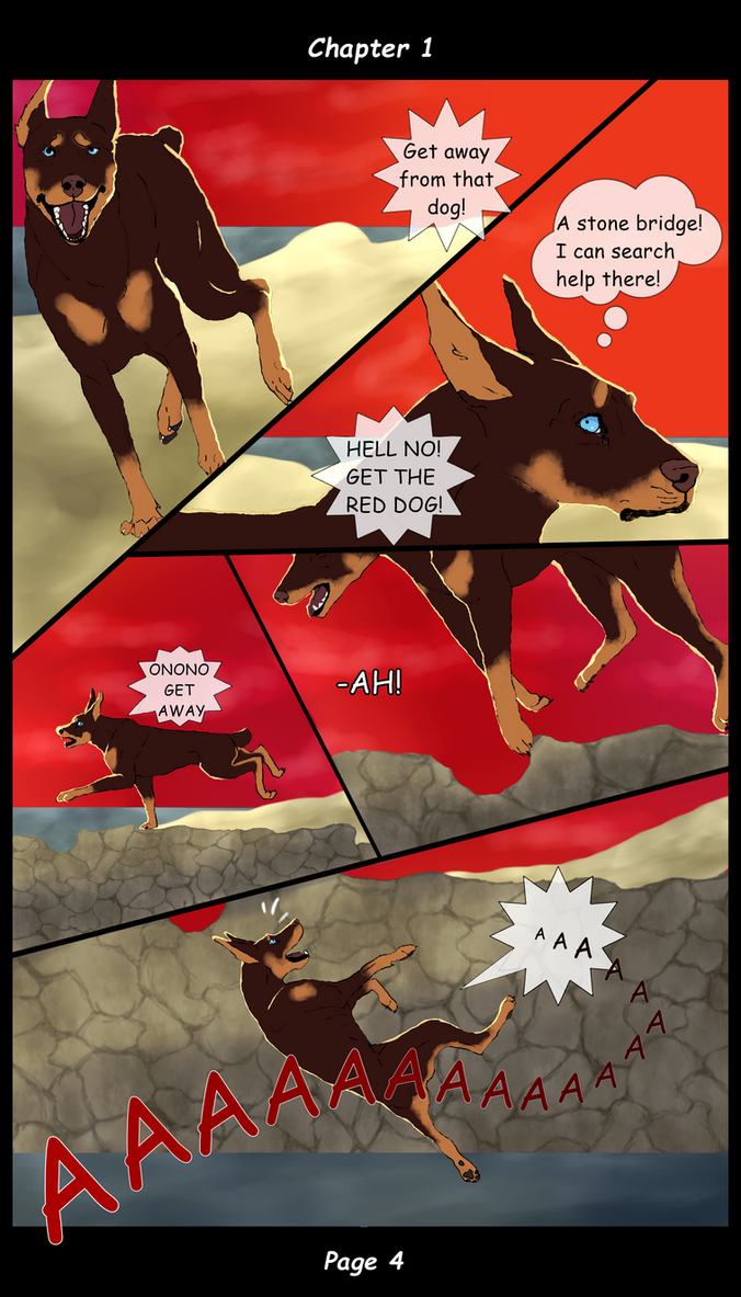 American Revenge - Page 4 ENG by ValentinaTheWolf