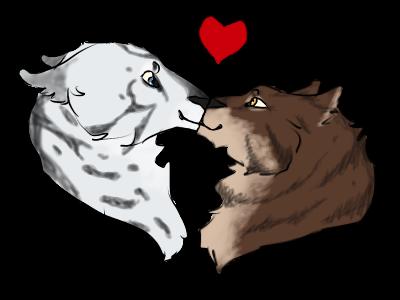 February Lovebirds - Happy Valentines! by ValentinaTheWolf
