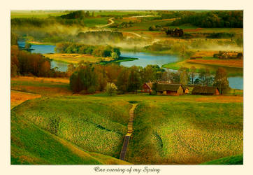 One evening of my Spring by Erni009