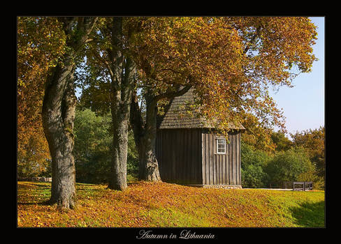 Autumn in Lithuania