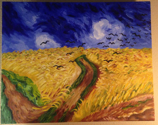 Crows in a Cornfield Masterstudy
