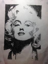Marilyn Monroe Hatchcrossing