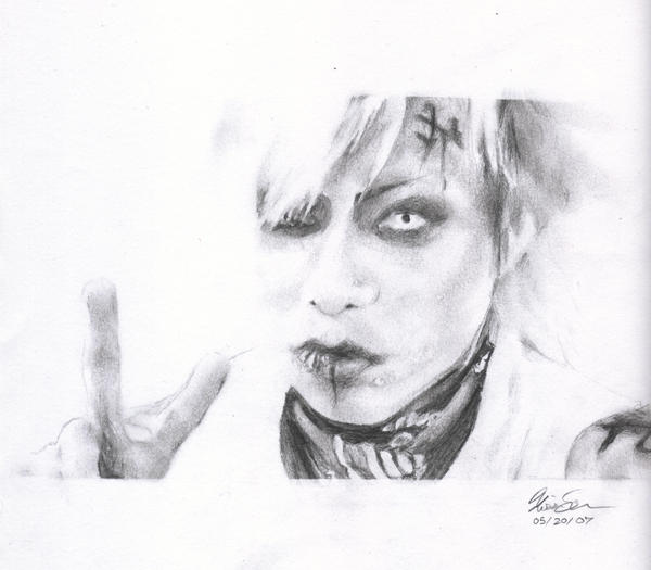 Peace Out - Kyo of Dir en Grey by x0SHiranai0x