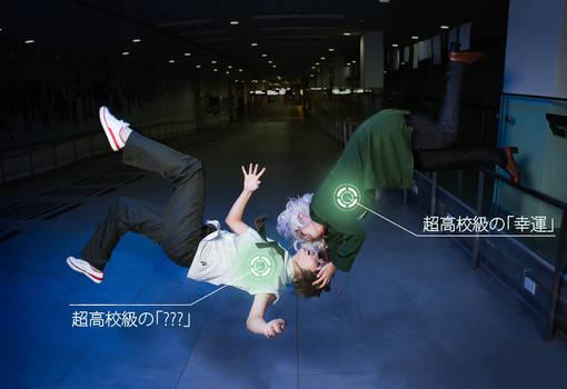 SuperDanganRonpa2 cosplay- KomaHina