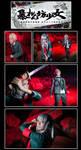 SDR2 Chapter 2 Execution cosplay by Rii-ki-AruxKol