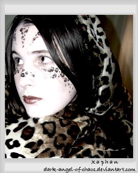 Angel in Leopard Print by dark-angel-of-chaos