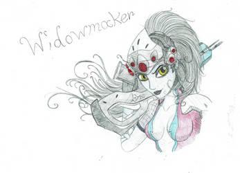 Overwatch - Widowmaker by UltimateCluckinbell