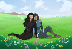 Korrasami - Just the two of us by GoEnzoGo