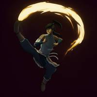 Korra - Fire by GoEnzoGo