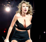 Taylor Swift with Bigger Breasts 5