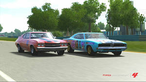 My Little Pony G4 Racing Dodge Charger R/T SE