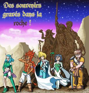 Des souvenirs graves dans la roche !
