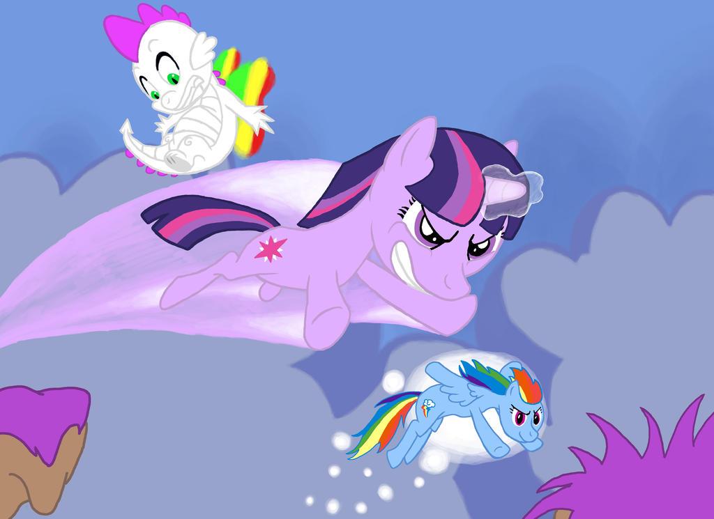 My little pony base unicorn with wings - photo#12
