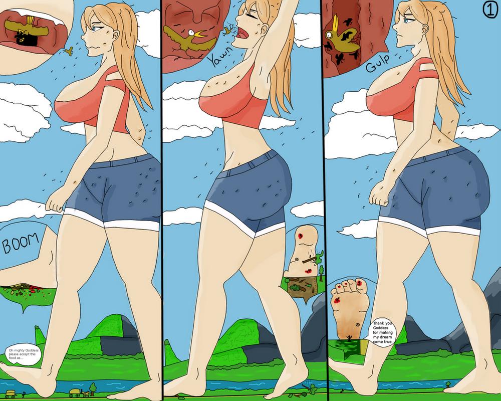 Tori the Unaware Goddess? Page 1