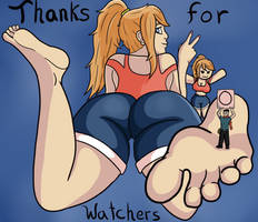 Thanks for 1000 watchers :3