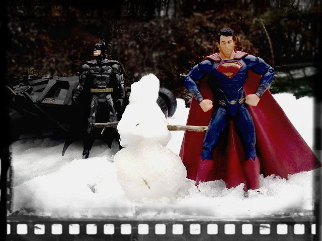 Image result for superman in snow