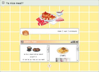 [CODE] A Nice Meal