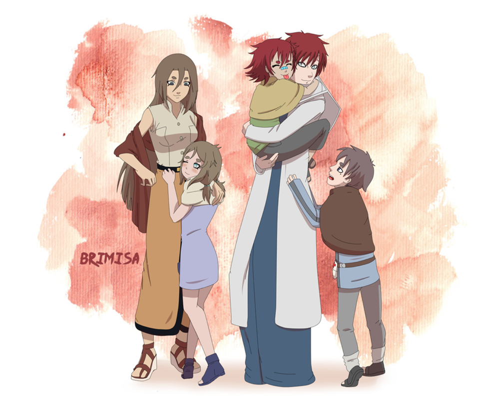 Gaara and Kurei by Brimisa on DeviantArt Gaara And Naruto Kids