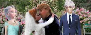 Their wedding by IAmZBEST