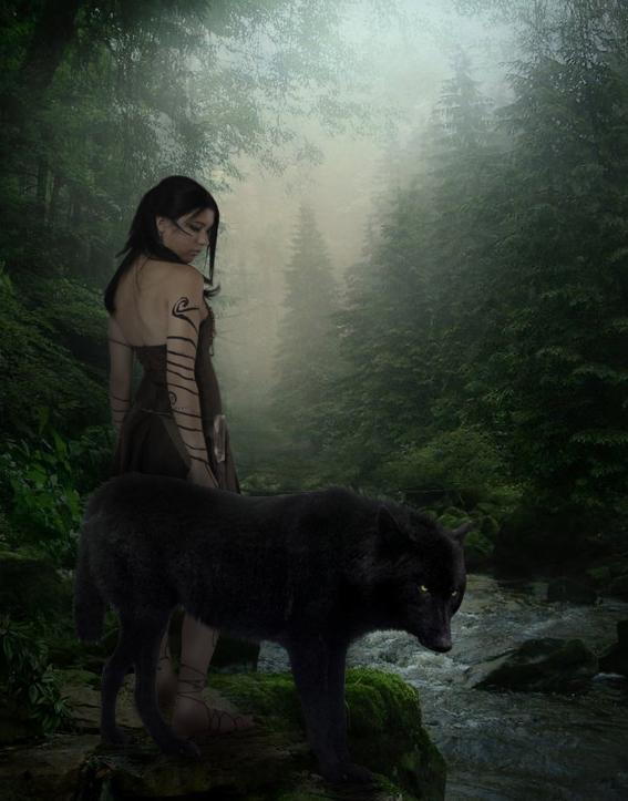 werewolf love art