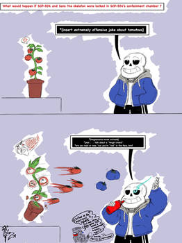 SCP-504 and Sans the Skeleton