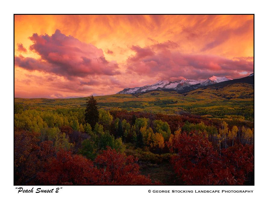 Peach Sunset 2 by gwrhino