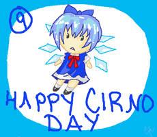 HAPPY CIRNO DAY by SolitarySolitude