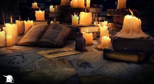 Under light of Books