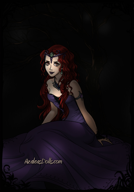 Queen Beryl in her Dark Kingdom by Inaworldsocold