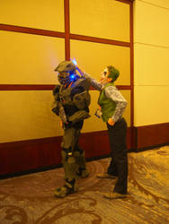 Master Chief and The Joker